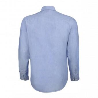 Wolff Vintage Men Hemd William Farbe hellblau Material Cotton Biobaumwolle Fair Wear Ansicht Rückseite