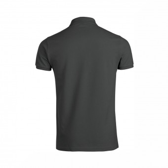Wolff Vintage Men Poloshirt Finley Farbe Antrazit Material Cotton Biobaumwolle Fair Wear Ansicht Rückseite