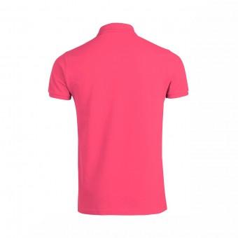 Wolff Vintage Men Poloshirt Finley Farbe Pink Material Cotton Biobaumwolle Fair Wear Ansicht Rückseite