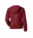 Wolff Vintage Men Jacke Isaac Farbe burgundy Material Cotton Biobaumwolle Fair Wear Ansicht Rückseite